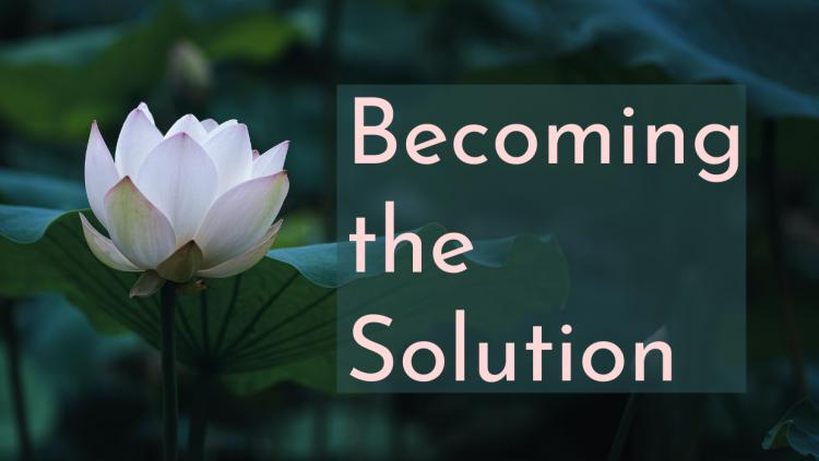 Becoming the Solution