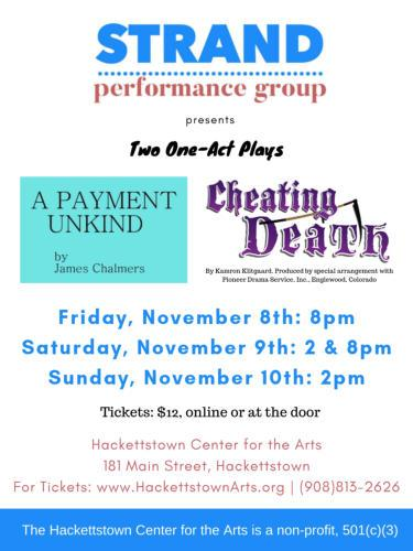 Strand Performance Group: Two Plays
