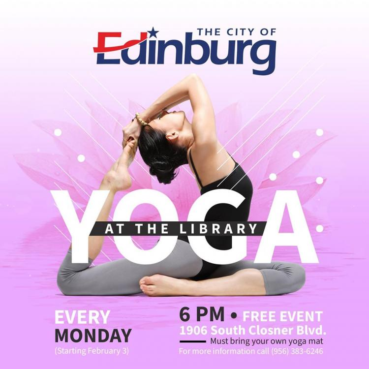 Yoga at the Library