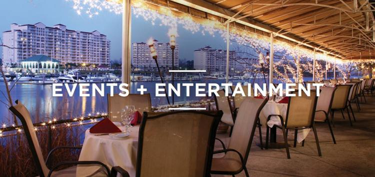 Open to See Greg Norman's Live Entertainment and Events Calendar