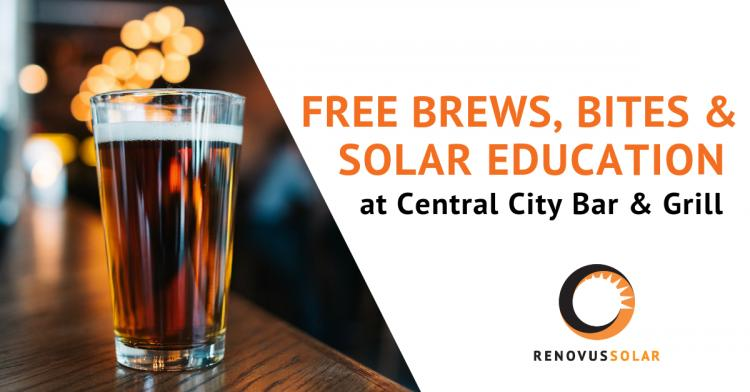 Community Solar Event - Central City Bar & Grill