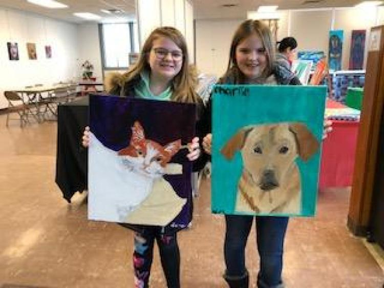 BCA: Paint Your Pet