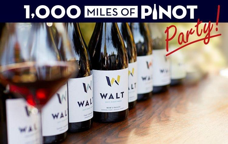 WALT 1000 Miles of Pinot Party @ Sonoma
