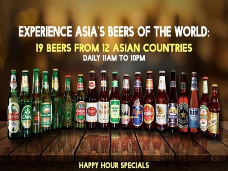 Asian Beers of the World [12 Asian countries + 19 Beers]