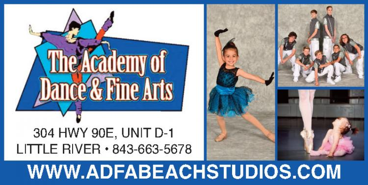Registration Going On Now for Academy of Dance & Fine Arts Fall Classes