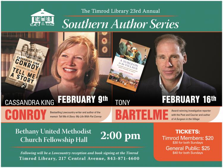 Timrod Library - 23rd Annual Southern Author Series