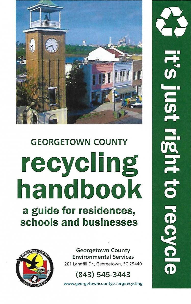 Pick Up Your FREE Geo County Recycling Handbook at Recycling Centers
