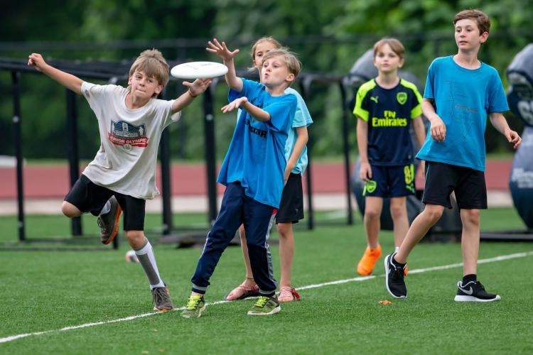 AUDL Ultimate Frisbee Sports Camp