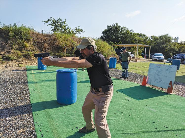 Handgun Training Class - Learn a Safer Way to Carry with Israeli Combat Shooting