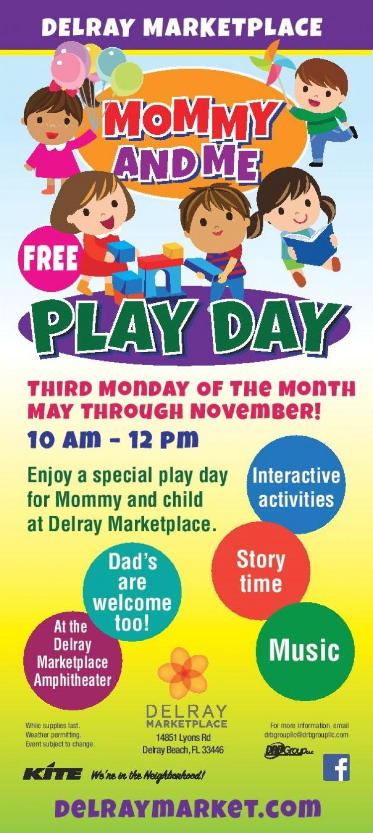 Mommy and Me Play Days at the Delray Marketplace