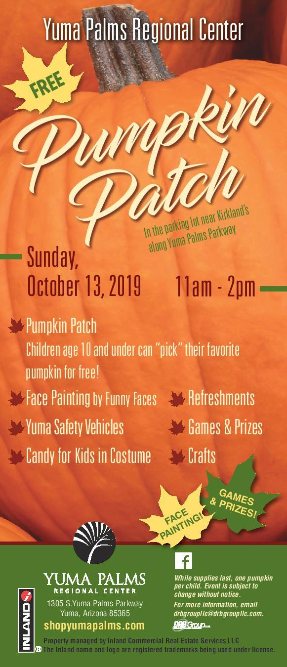 Free Fall Festival at the Yuma Palms Regional Center