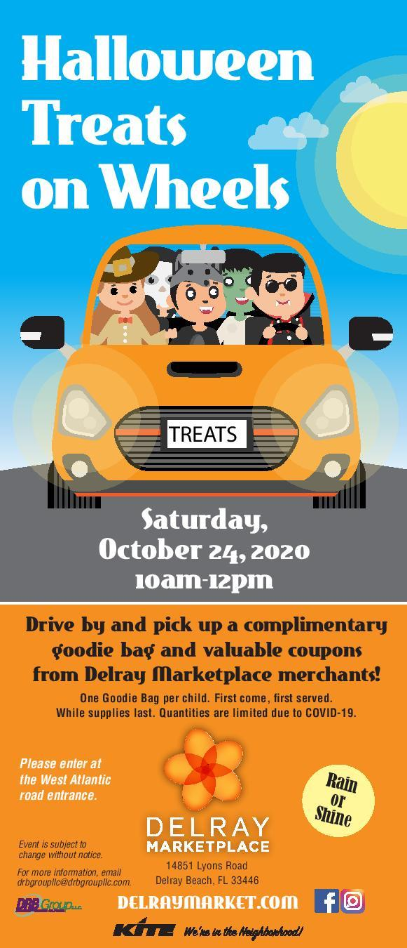 Halloween Treats on Wheels Event at the Delray Marketplace