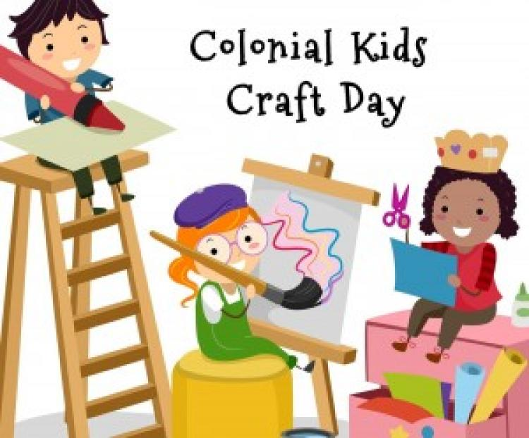 Colonial Kids Craft Day