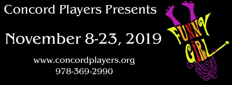 Concord Players presents Funny Girl
