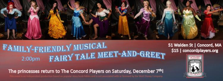 The Princesses return to The Concord Players