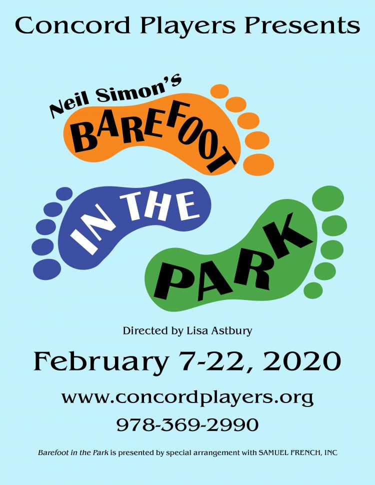 Concord Players presents Neil Simon's Barefoot in the Park