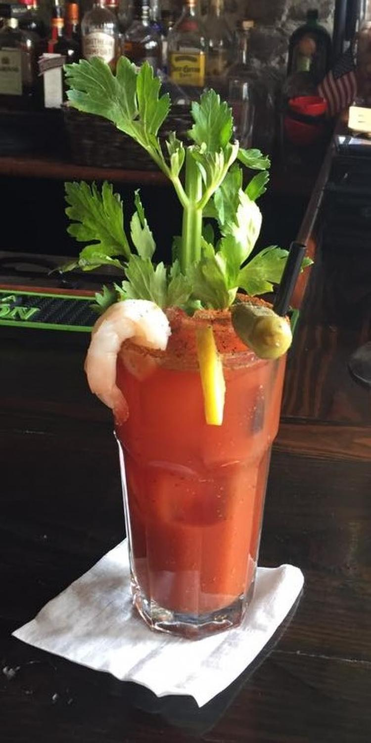 The Best Bloody Mary In Town is at Seven Hundred Grill & Bar - Georgetown