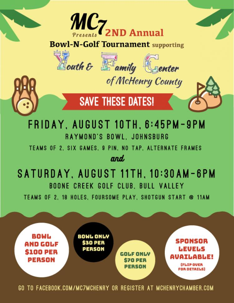 MC7 2nd Annual Bowl-N-Golf Tournament and Fundraiser