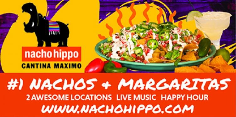 Check Out The Live Music Schedule at Nacho Hippo in North Myrtle Beach