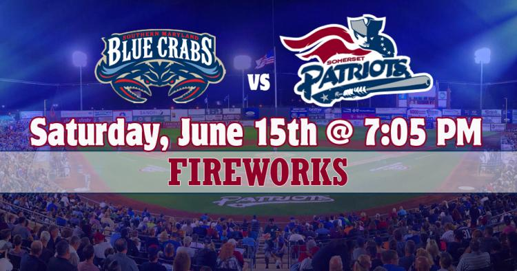 Somerset Patriots vs. Southern Maryland Blue Crabs
