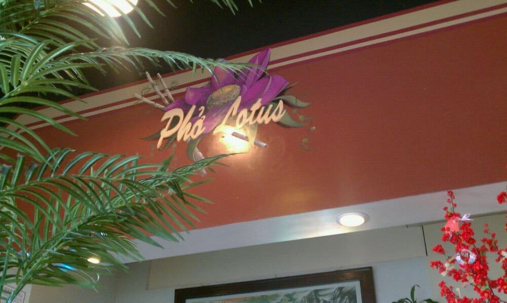 Pho Lotus Open  for Take out and Delivery