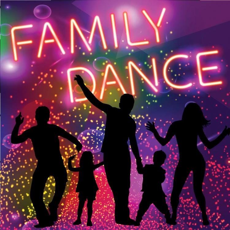 CSD-Glow in the Dark Party Family Dance