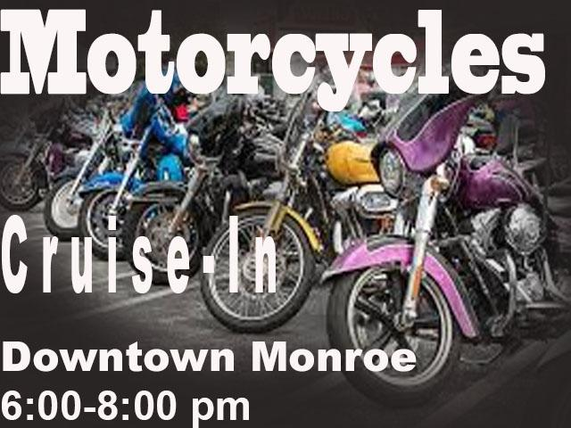 Downtown Monroe Car Cruise In - Motorcycles