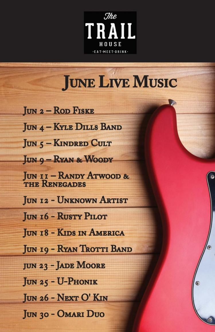 The Trail House Band Line-Up