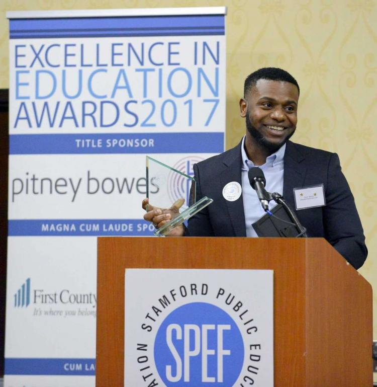 Stamford Public Education Foundation's Excellence in Education Awards 2018