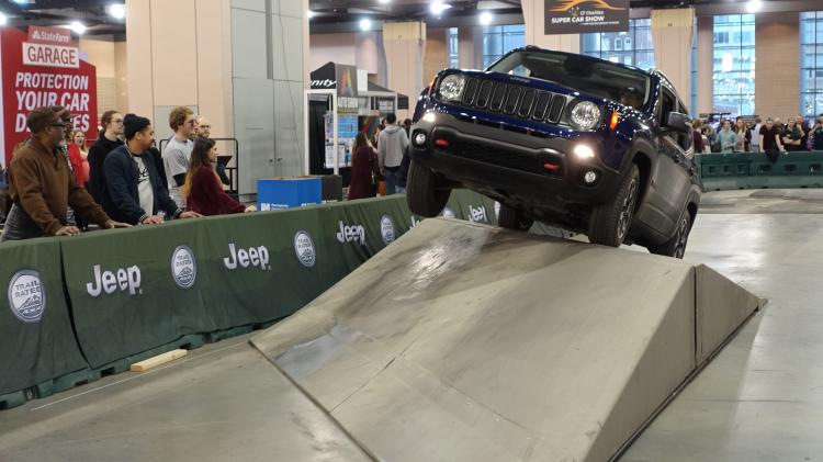Conquer Camp Jeep® at the Nation's Largest Auto Show!