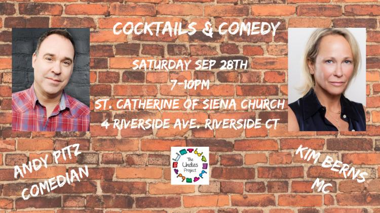 Cocktails & Comedy Fundraiser to Benefit The Undies Project