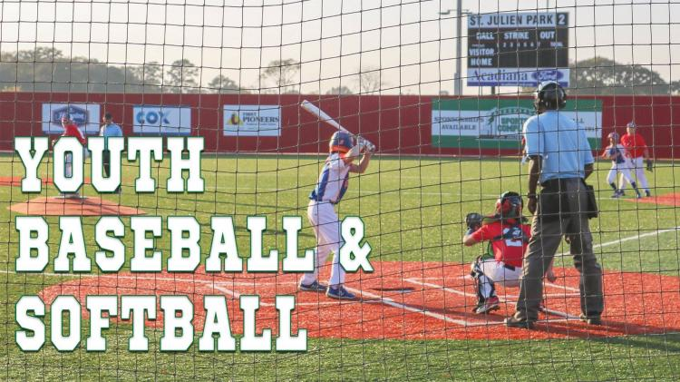 Registration: Spring Youth Baseball & Softball League