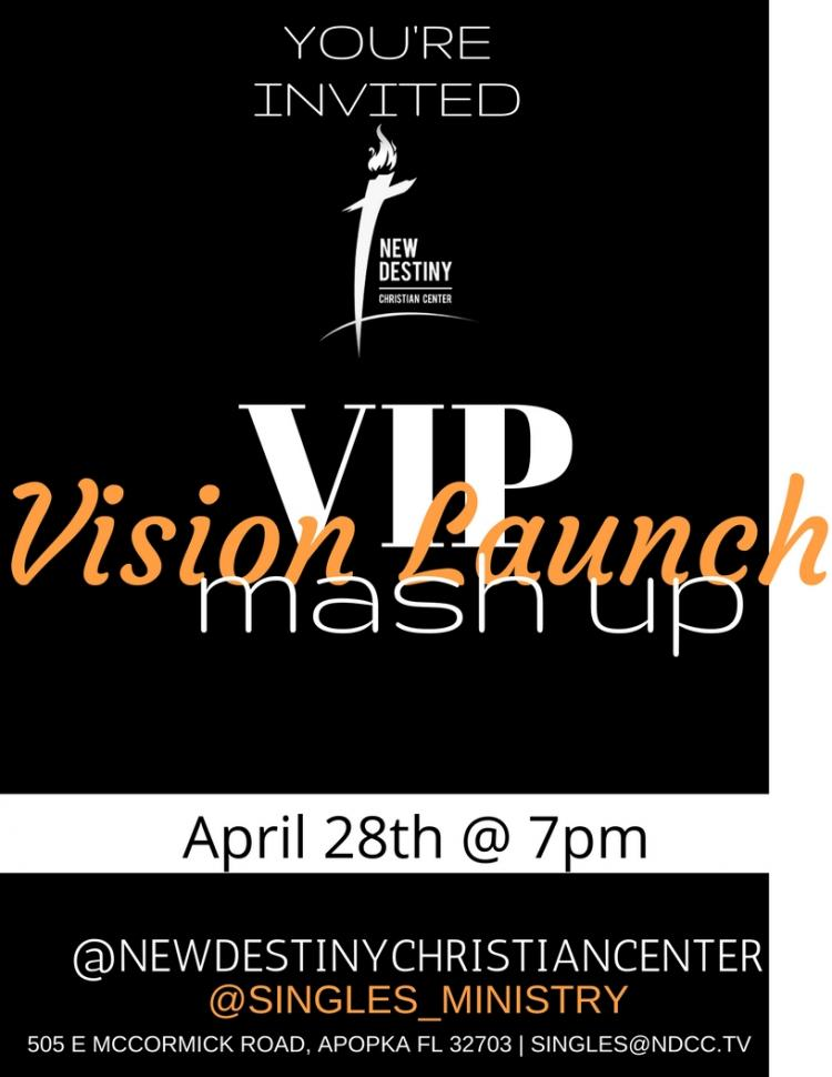 New Destiny Christian Center_ Singles Ministry Vision Launch Party