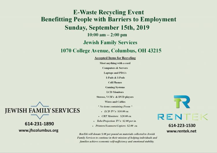 Electronic Recycling Drive