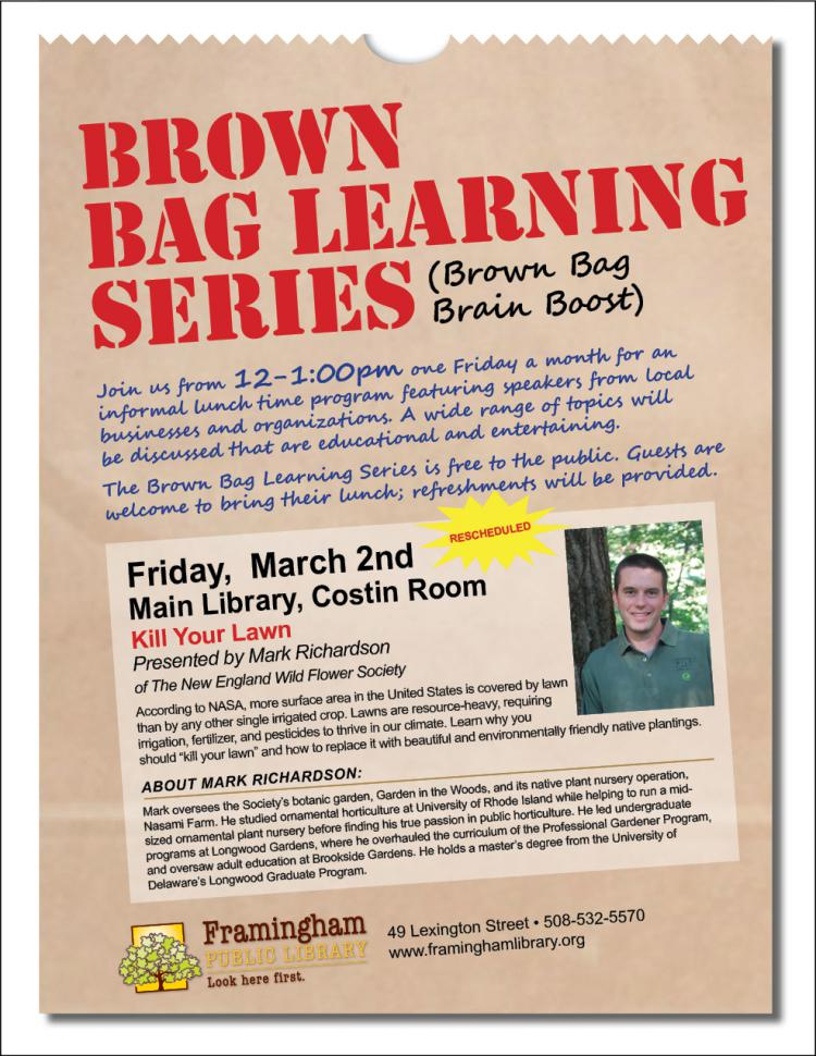 Brown Bag Learning Series