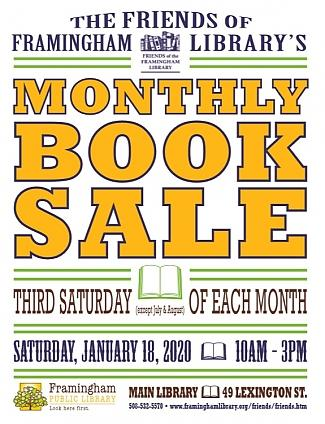 Friends of the Framingham Library Book Sale