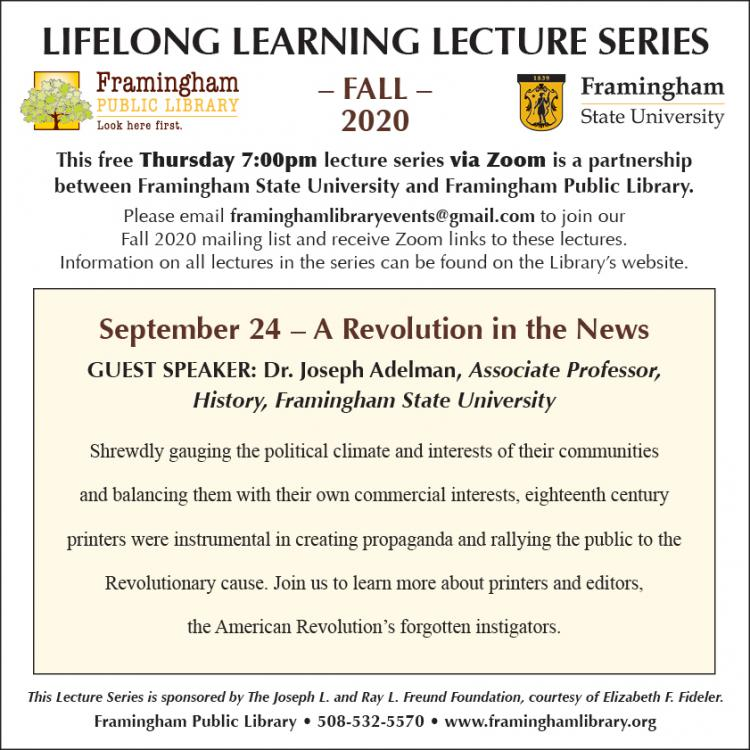 Lifelong Learning Lecture Series