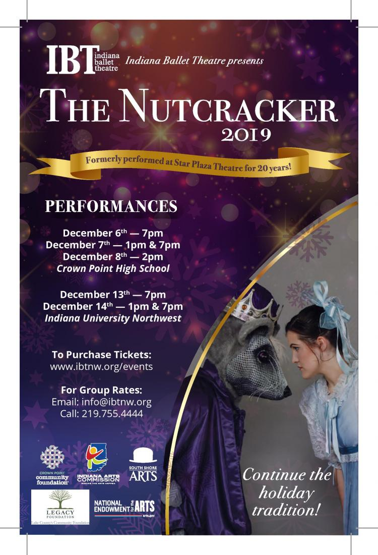 The Nutcracker presented by Indiana Ballet Theatre