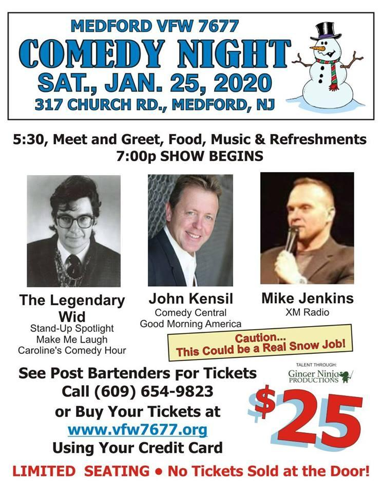 Comedy Night for the Medford VFW