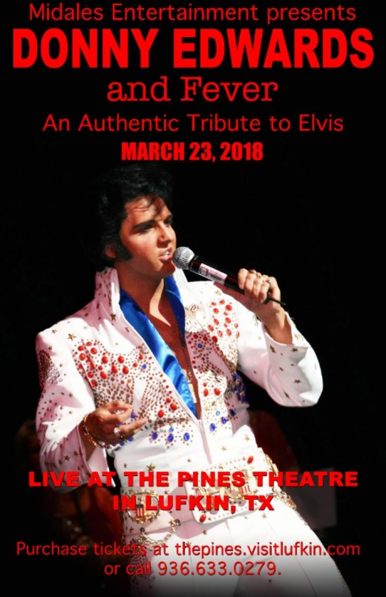 Donny Edwards and Fever: An Authentic Tribute to Elvis