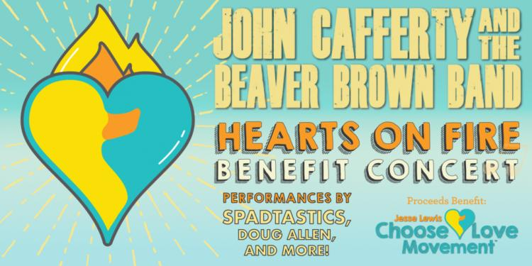 Hearts on Fire Benefit Concert starring John Cafferty and the Beaver Brown Band