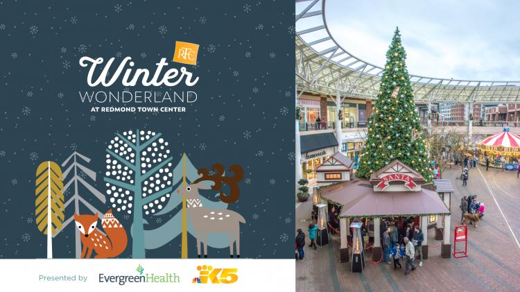 Winter Wonderland at Redmond Town Center