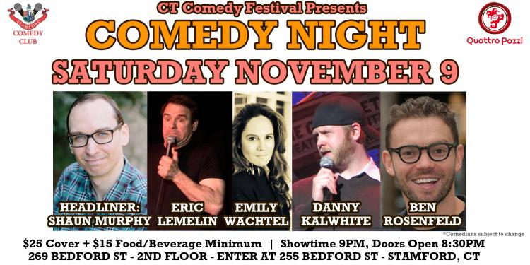 Stamford Stand Up Comedy Night with Shaun Murphy And Friends