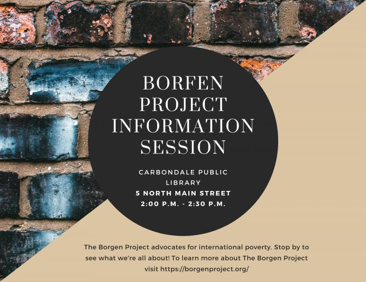 Borgen Project Information Session