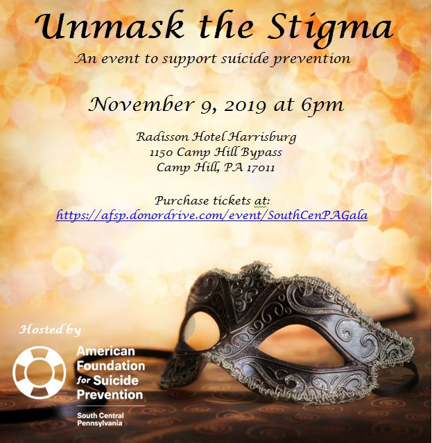 AFSP's South Central PA Masquerade Ball 2019