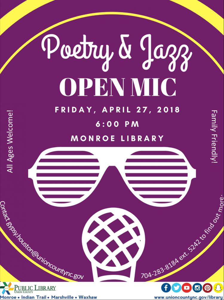 Poetry & Jazz Open Mic