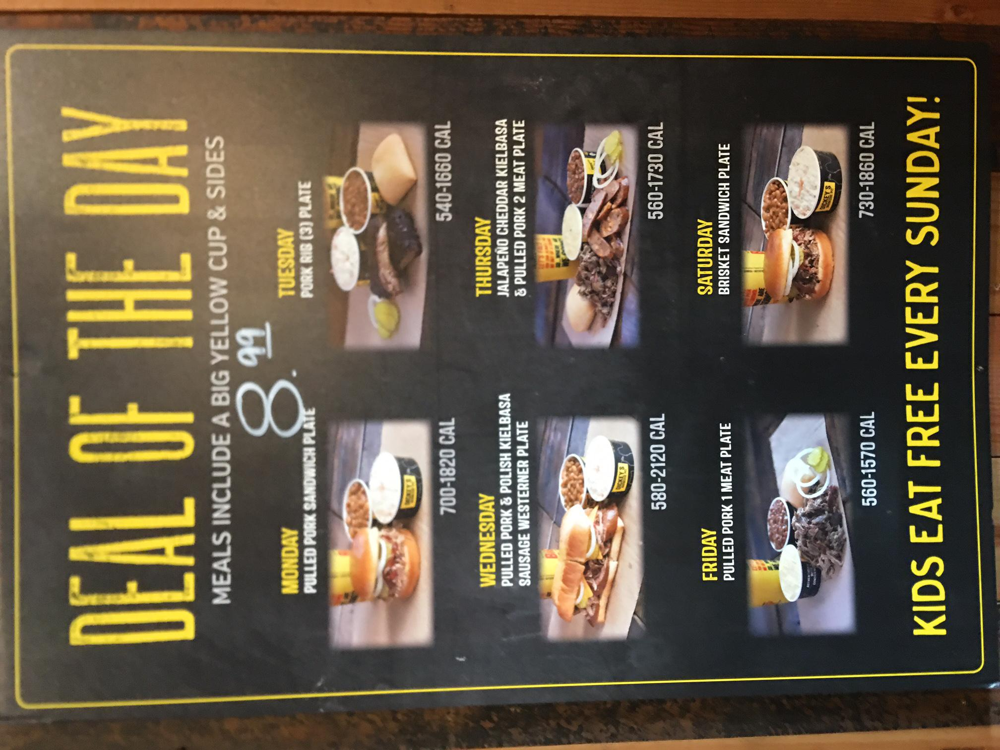 $8.99 Deal of The Day - Everyday at Dickey's Barbecue Pit in Murrells Inlet