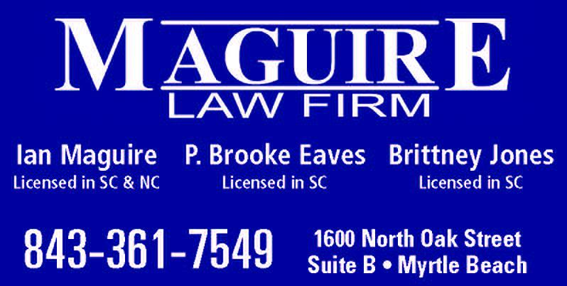Watch Legal Access Live at Noon on WMBF Every Thursday with Maguire Law Firm