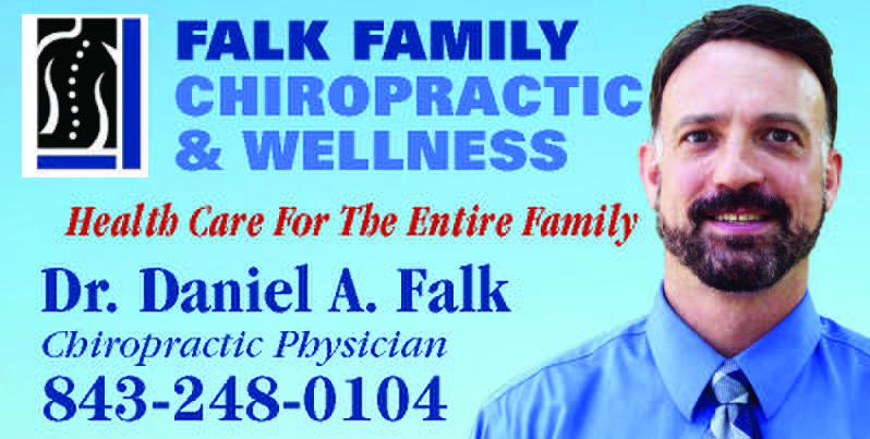 Visit Falk Family Chiropractic's Booth at the Loris Bog-Off