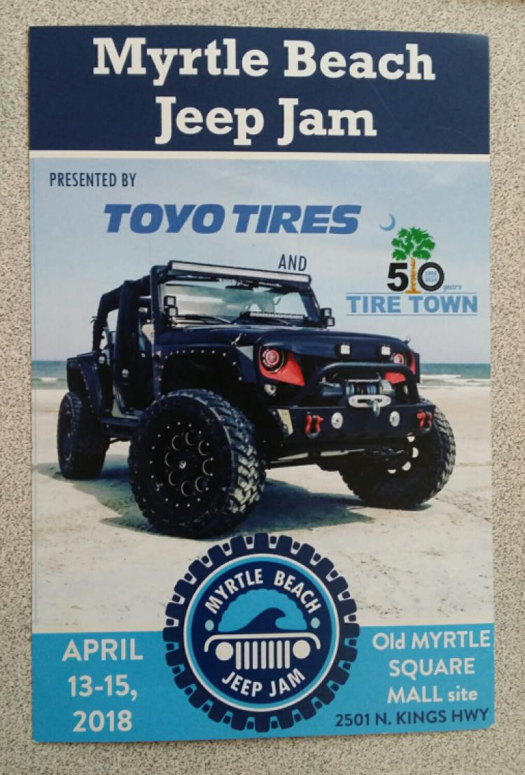 MB Jeep Jam Presented by Toyo Tires & Tire Town - Benefits Wounded Warrior Proj.